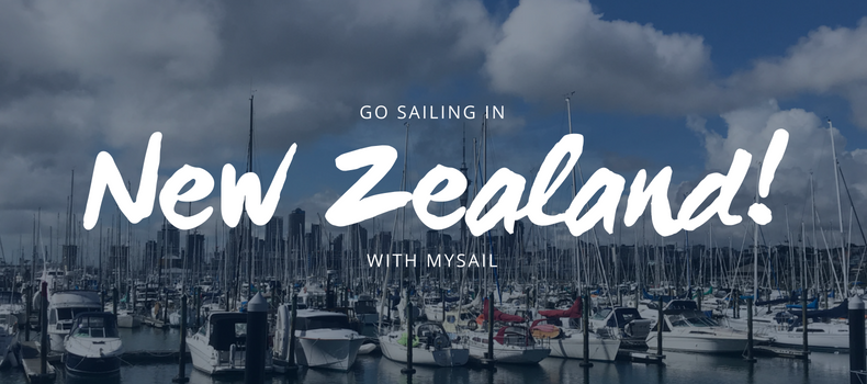 Go sailing in New Zealand
