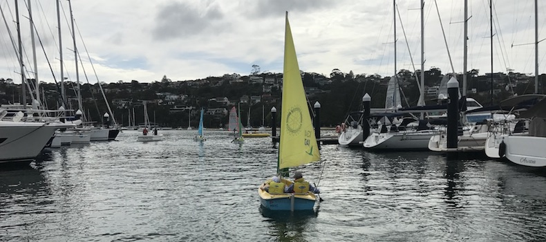 Volunteering in Sailing - Sailability at MHYC in Sydney