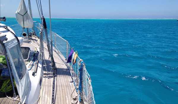 Discovering cruising - sailing on Fluenta in Fiji