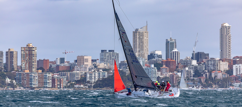 Confidently sailing in windy conditions