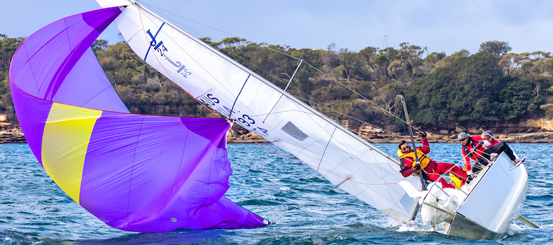 Learn how to get out of trouble when something goes wrong on a race yacht