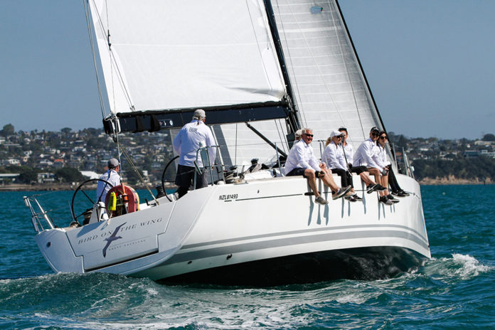 The first EOI has been received from RNZYS General Committee Member Mike Malcolm who intends to enter his Beneteau First 50 Bird on the Wing. © Ivor Wilkins
