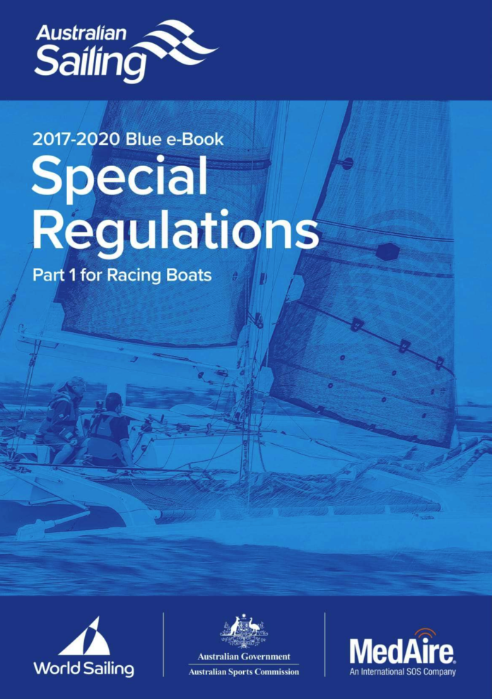Australia Sailing Special Regulations