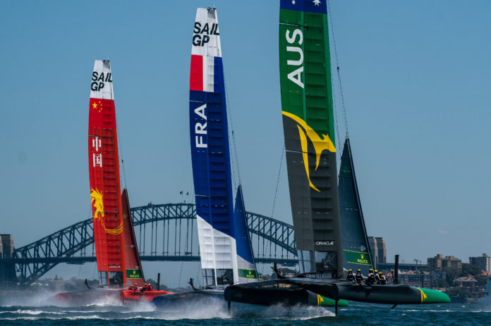 SailGP Event 1 Season 1 Sydney Australia