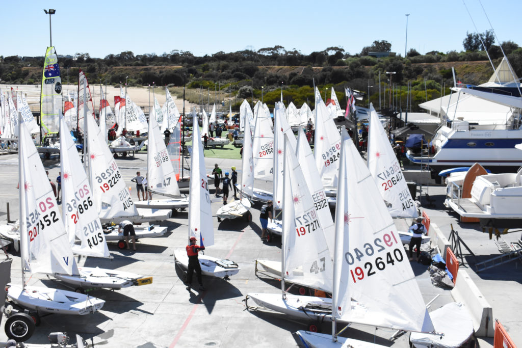 Entries for the 2019 Sail Sandy Regatta are closing in on 200