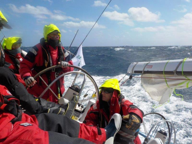 Crew in the 75th Rolex Sydney Hobart Yacht Race