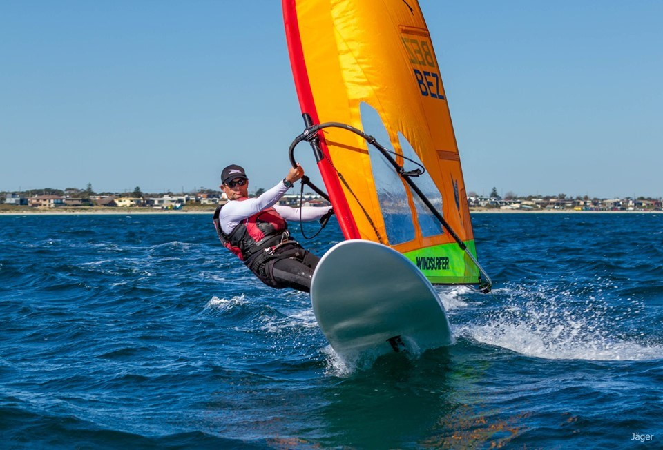 Recently crowned Windsurfer World Champion Nick Bez will headline the Sail Sandy fleet
