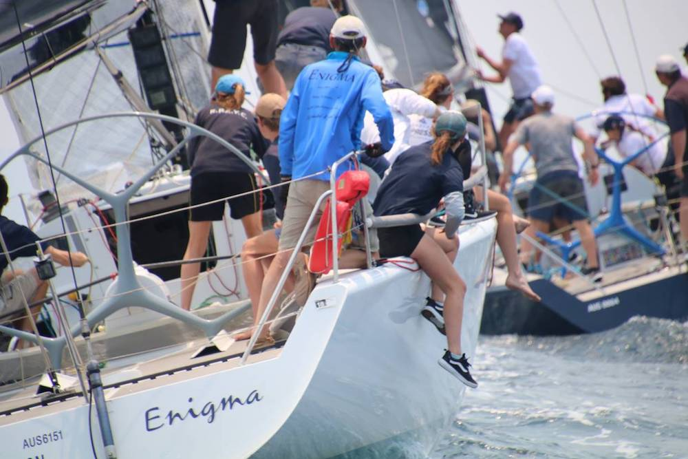 Enigma at Farr 40 Pittwater One Design Trophy - photo credit Jennie Hughes