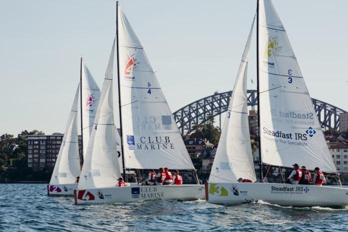 NSL Oceania Final Apri 2019 & Sydney Harbour Bridge. Photo credit Darcie Collington Photography