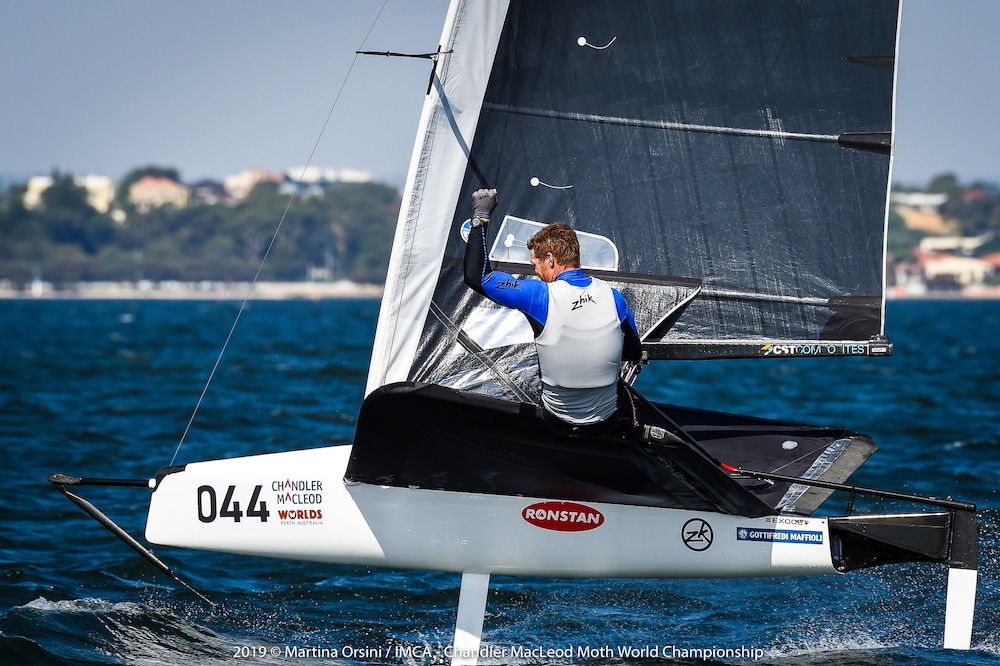 Tom Slingsby clinches his maiden Moth World Championship with a day to spare