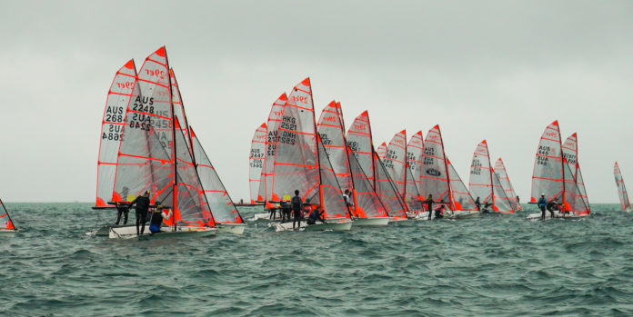 A strong fleet of 29ers participated in the recent nationals at Blairgowrie