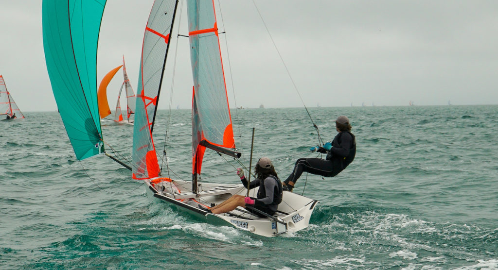 Ethan Galbraith and Charlie Zeeman took out the Australian 29er Championship at the Blairgowrie Yacht Squadron