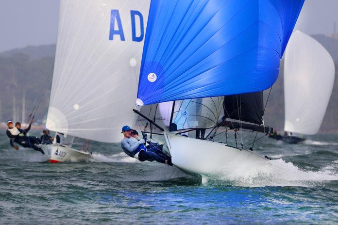 Stronger winds of Race 5_Mark Rothfield