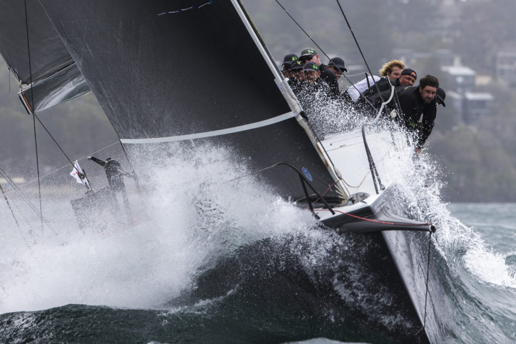 Hooligan racing at Sydney Harbour regatta - photo credit Andrea Francolini