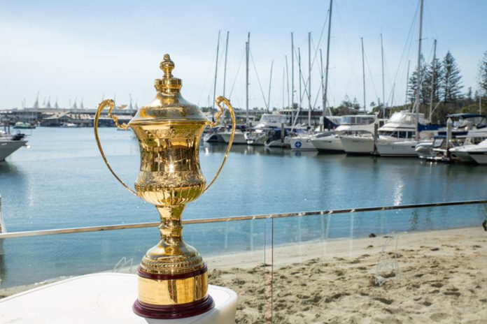 The 2020 Noakes Sydney Gold Coast entrants will be racing to get their hands on the Peter Rysdyk Trophy for first overall. CREDIT - CYCA:Hamish Hardy