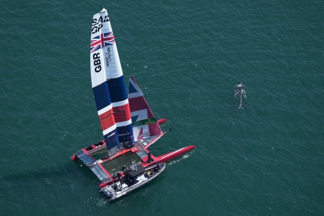 Plymouth set to entertain sold out crowds for this weekend's Great Britain Sail Grand Prix, July 17-18