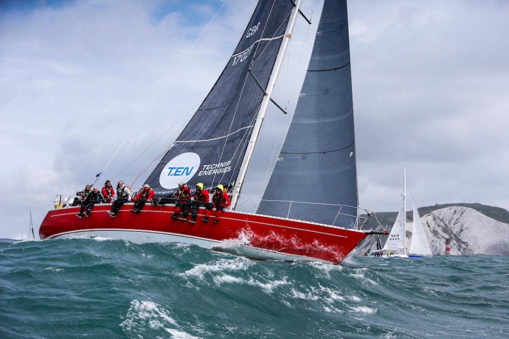 Ross Applebey's proven RORC race winner - Oyster 48 Scarlet Oyster © Paul Wyeth/pwpictures.com