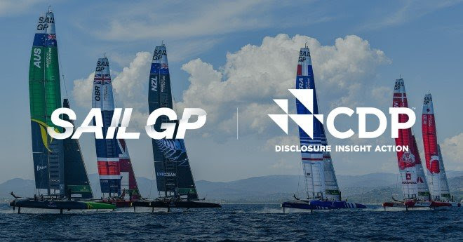 CDP joins SailGP's Race for the Future – championing a world powered by nature through environmental disclosure | Photo Credits to SailGP Media